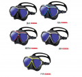 TUSA M2001SQB PARAGON Tauchmaske mit AR / UV Gläsern - Zweiglasmaske Farbe schwarz/ schwarz - M2001SQB BKA 61964918