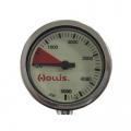 Hollis Finimeter mit Metallgehäuse und Mineralglas 0-400 Bar ohne Schlauch - 204-2311 42373581