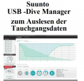 Suunto Dive Manager - USB-PC Interface D4i / D6i  /D9tx / Vyper