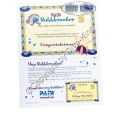 PADI Certificate - Bubblemaker mit Participant Card  - 40089