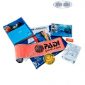 PADI Crewpak - Advanced Open Water mit SMB & Whistle  (Deutsch) - 60343G