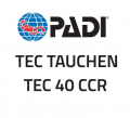 PADI Slate - Tec CCR, Type T Predive Check - (English) - 60231