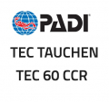PADI CD-ROM - Tec 60 CCR Diver, Manual - (English) - 70963