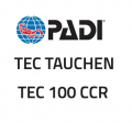 PADI CD-ROM - Tec 100 CCR, Diver Manual - (English) - 70998