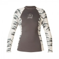 XCEL Ocean Ramsey Long Sleeve - Key Pocket  - Lycra Overteil - Dolphin