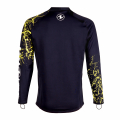 Aqualung CeramiQskin TOP Langarm Man - black/brightgreen