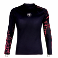 Aqualung CeramiQskin TOP Langarm Lady - black/coral