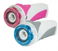 Light & Motion GoBe S 500 SPOT - pink/weiß