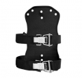 Scubapro X-TEK Soft Travel Backplate fürTEK Harness System, incl. 2 x Super Cinch Flaschengurt - 23807000