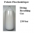 Polaris 15 L Flaschenkörper Stahl Diving Breathing Gas 232 bar - 19015