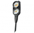 Scubapro COMPACT TWIN 2`er Konsole Manometer & Tiefenmesser - 28.042.100